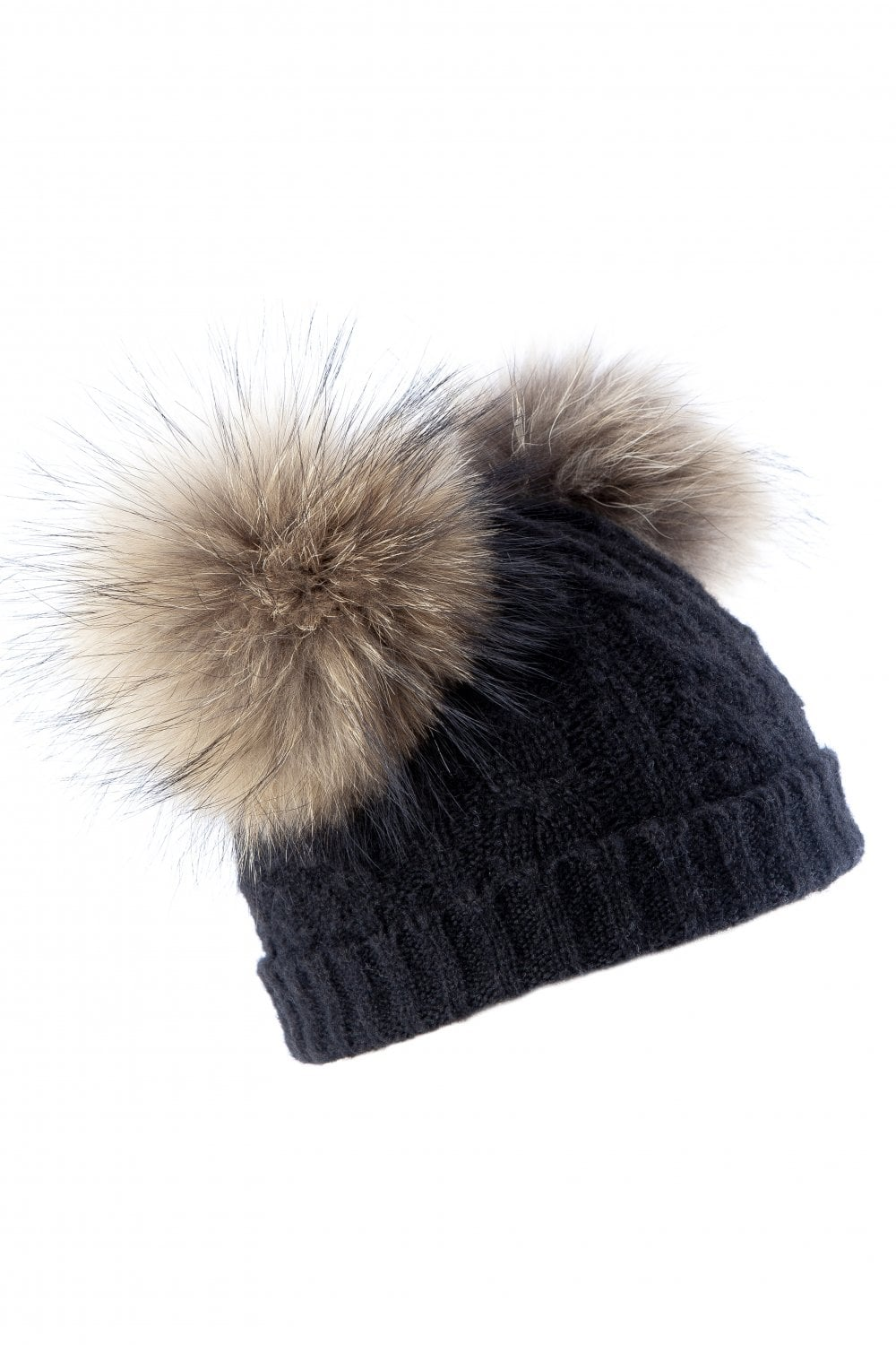 eb3117f9a46 JAYLEY Cashmere Blend Fox Fur Hat - Accessories from JAYLEY UK