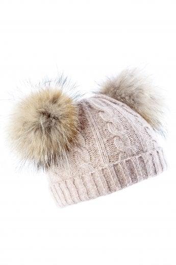 5459e8e31ff Cashmere Blend Fox Fur Hat