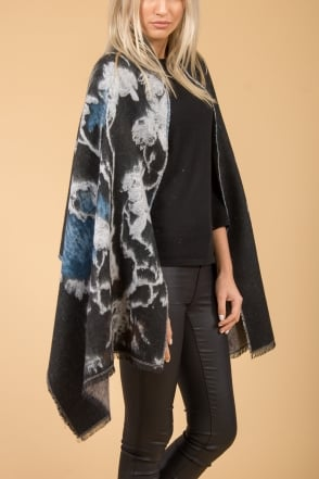 JAYLEY Cashmere Patterned Wrap