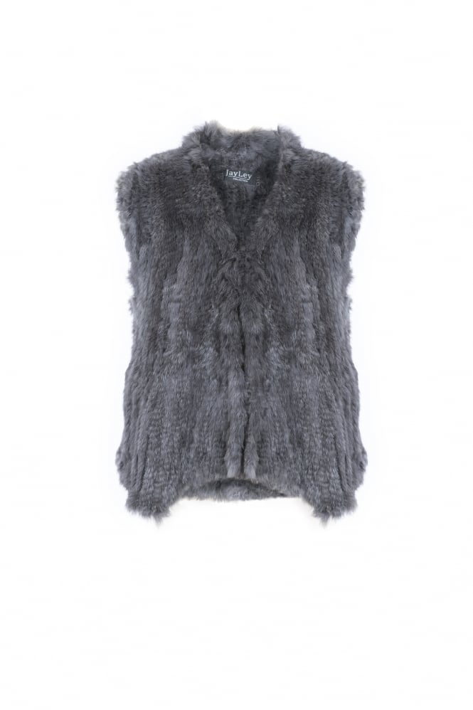 JAYLEY Coney Fur Gilet
