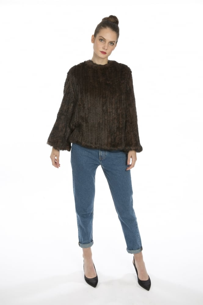JAYLEY Coney Fur Lavish Jumper