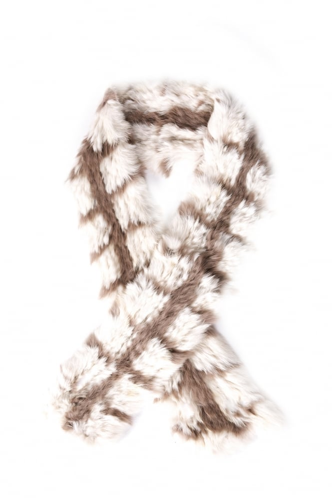 JAYLEY Coney Fur Scarf