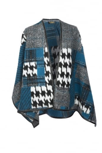 Dog Tooth Wool Wrap