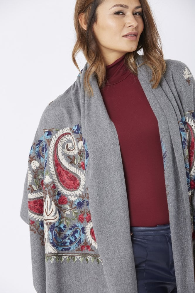 JAYLEY Embroidery Wrap