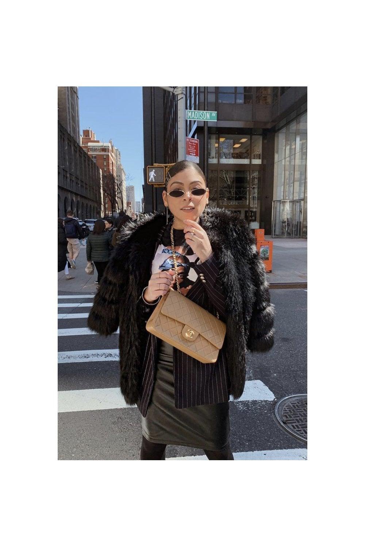 35b2ed9e7427 Luxury Womens Faux Fur Coat
