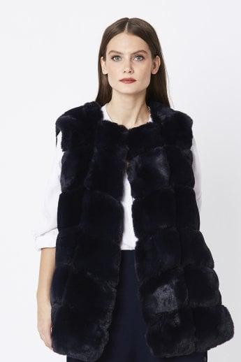 86f37a9357a0 Faux Fur Gilets