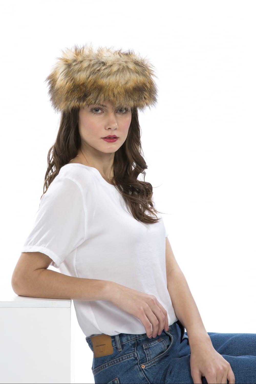 Luxury Womens Faux Fur Headband bba0ef317b4