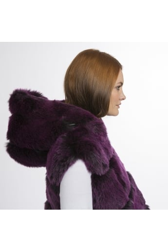 Faux Fur Long Gilet