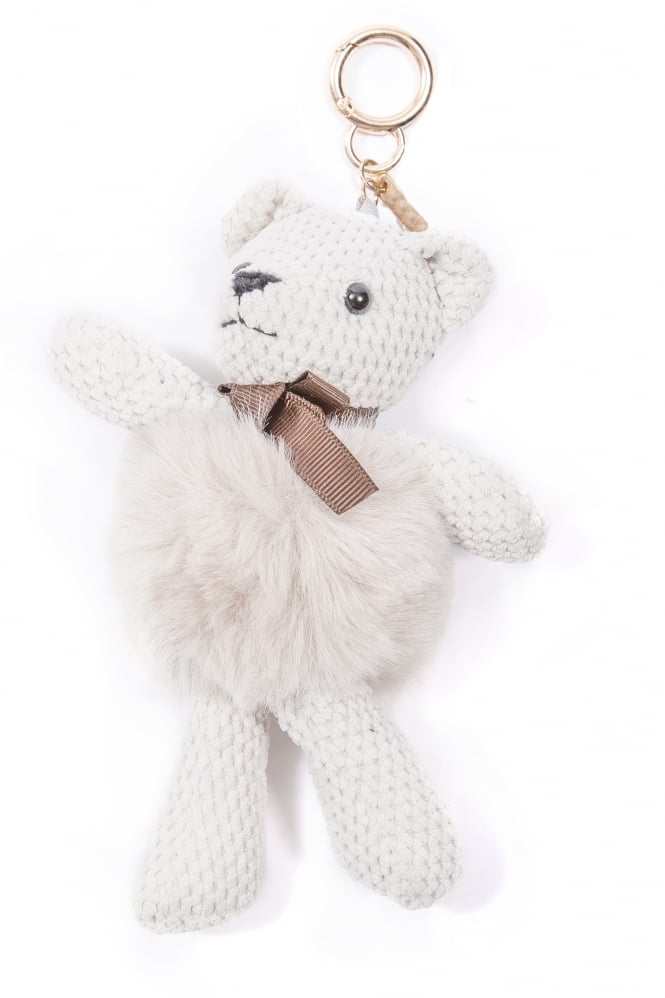JAYLEY Faux Fur Teddy Bear