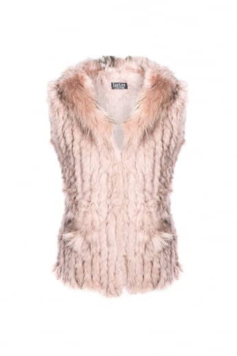 Fox and Coney Fur Gilet