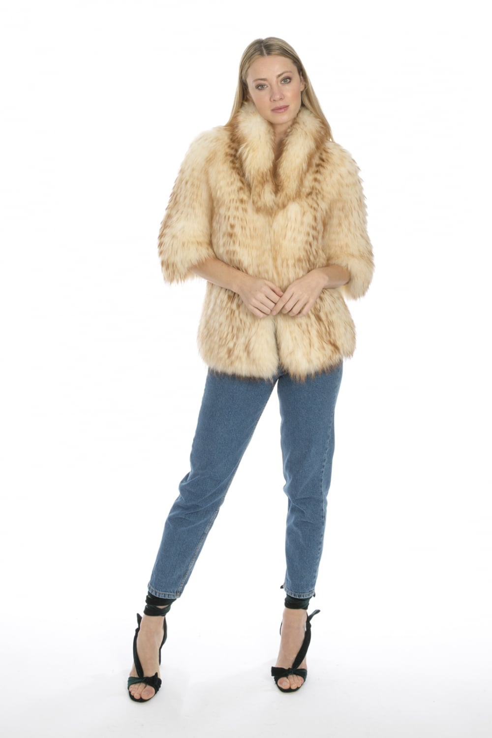 0ae151ca8 Canadian Red Fox Fur Jacket 100 Real Coats