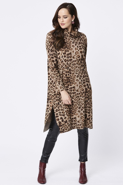5c807acb32f Leopard Print Dresses Shopstyle Uk | Saddha