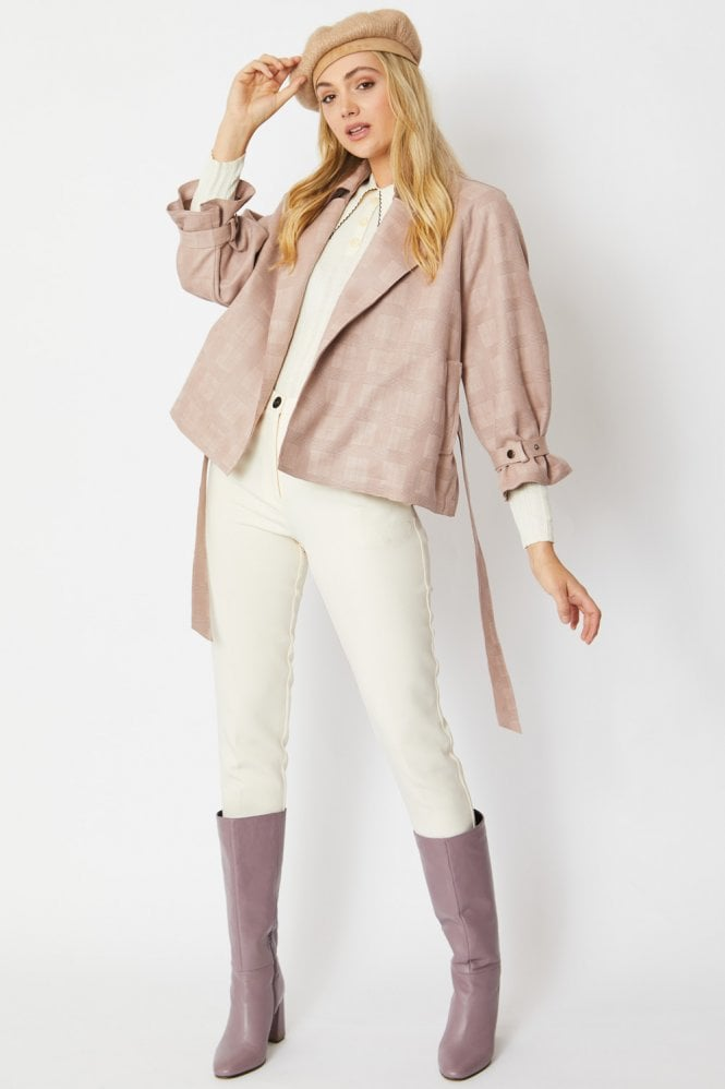 JAYLEY Luxury Faux Suede Jacket