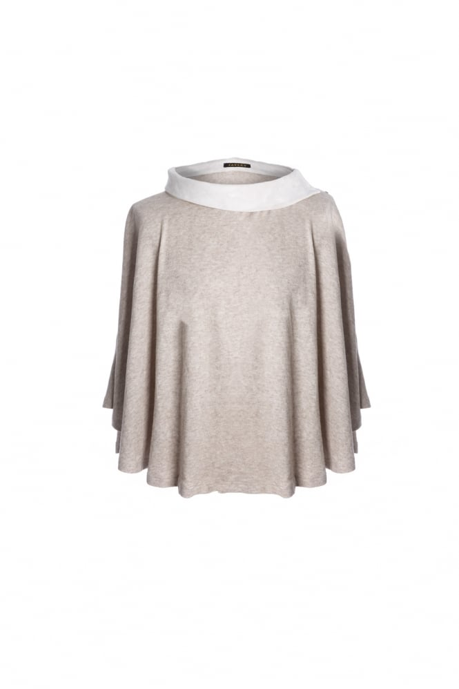 JAYLEY Luxury Suede Poncho