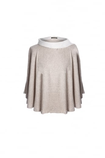 Luxury Suede Poncho