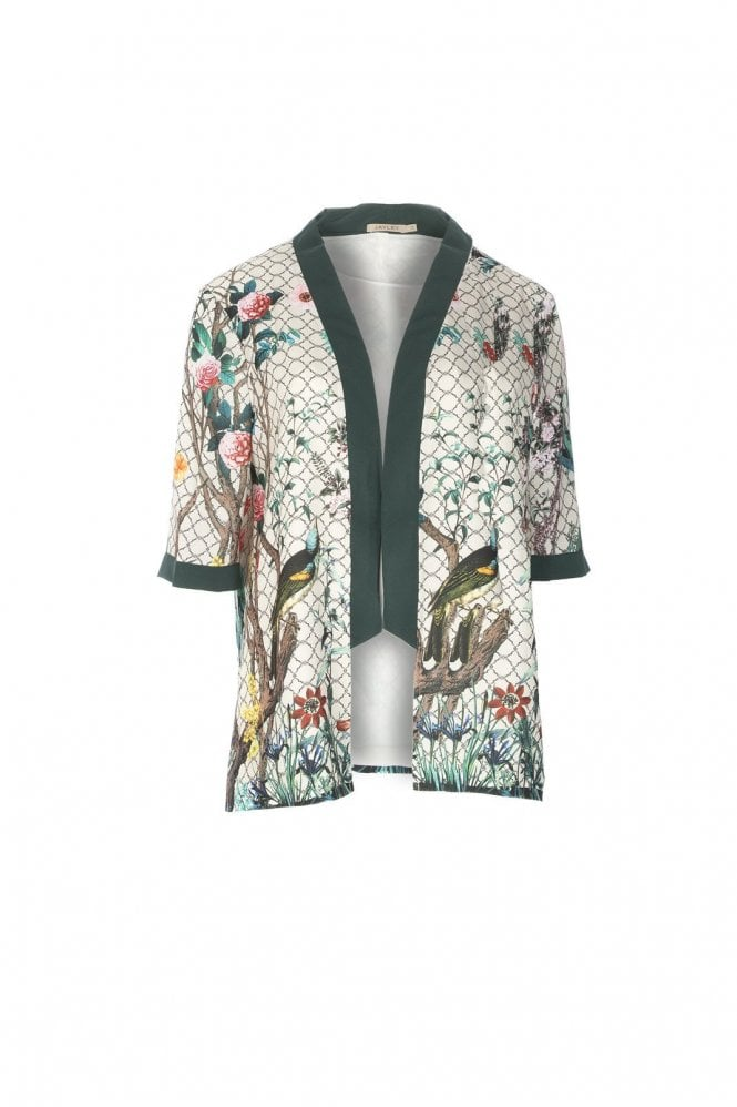JAYLEY Patterened Silk Jacket