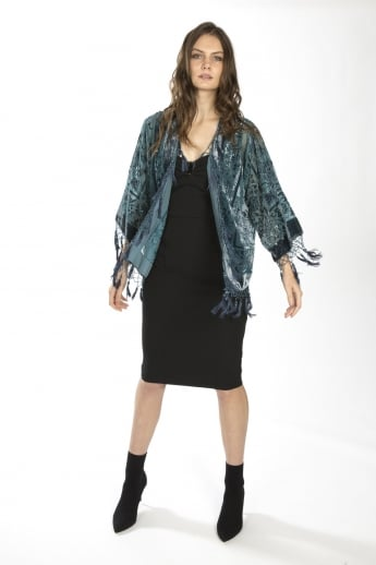 Silk Devore Jacket