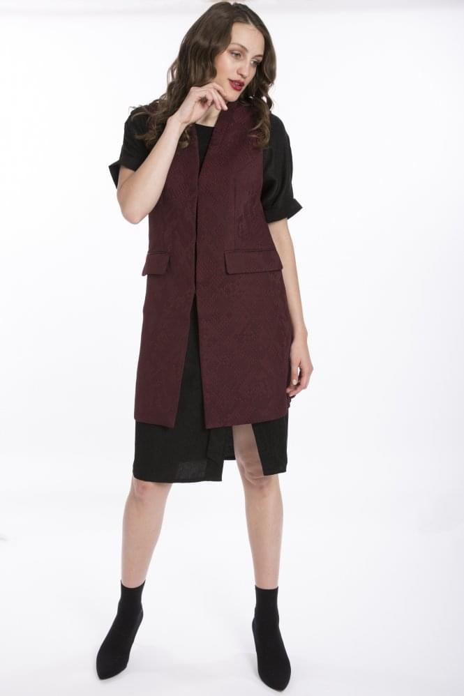 JAYLEY Sleeveless Jacket