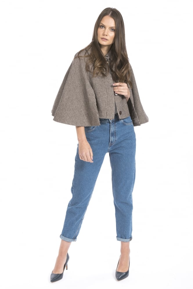 JAYLEY Tweed Cape