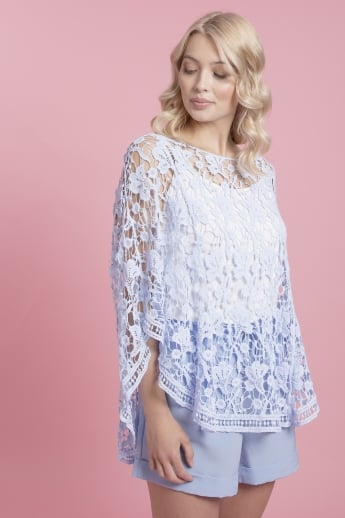 Vintage Lace Embroidered Kaftan