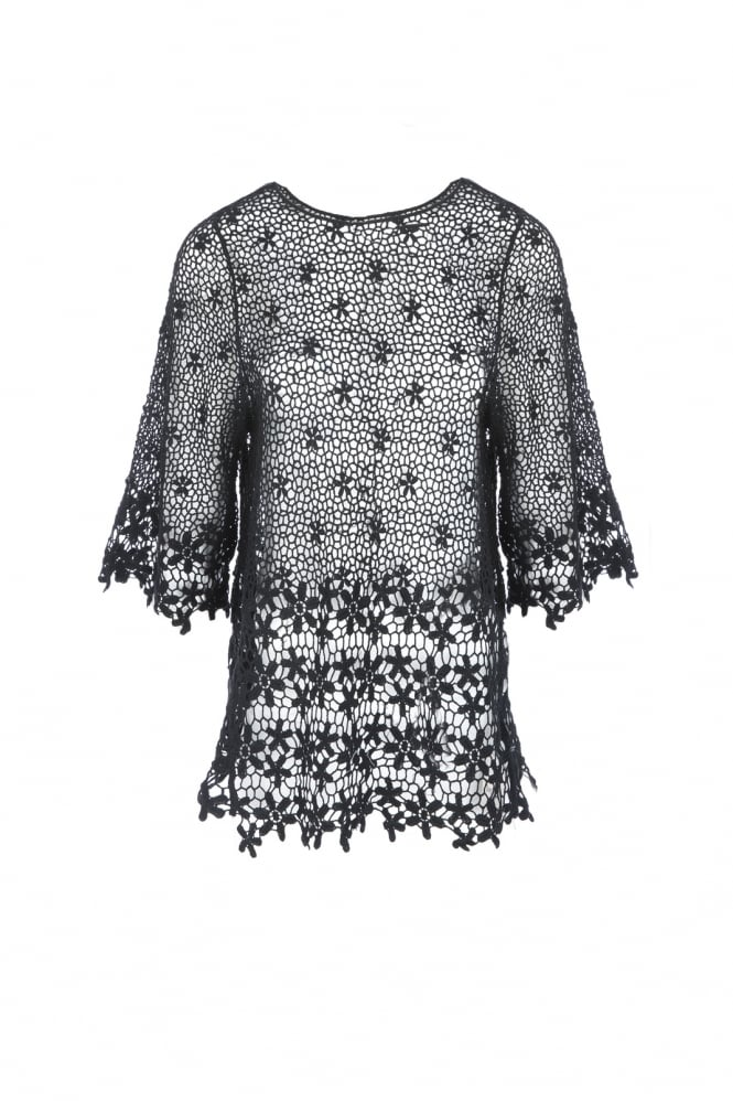 JAYLEY Vintage Lace Top