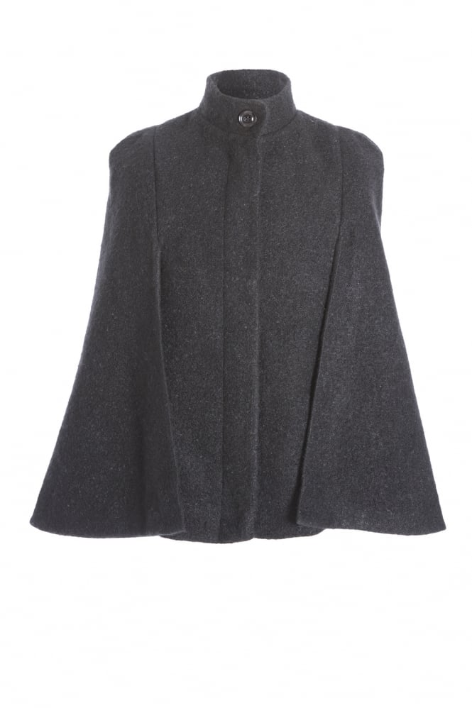 JAYLEY Wool Blended Cape