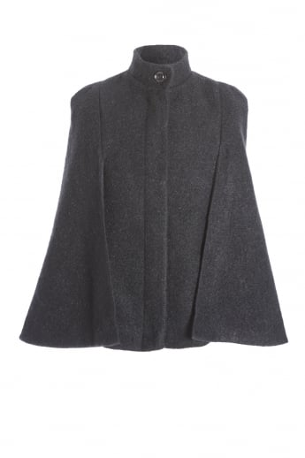 Wool Blended Cape
