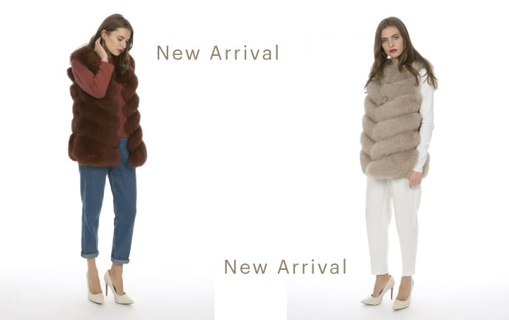 New Fur Gilet Arrival
